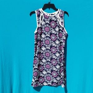 Modcloth (Ezra) Sleeveless Floral Dress Size